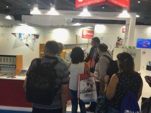 Mucha gente nos visita en Expoquimia