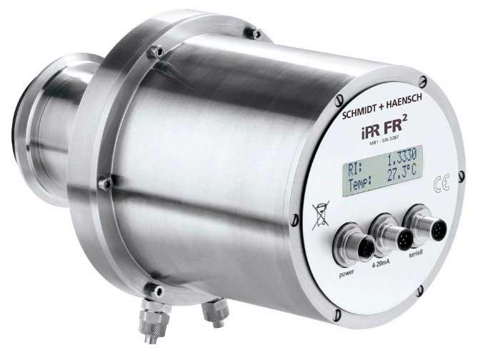 Ventajas del refractómetro en líneaiPR FR²