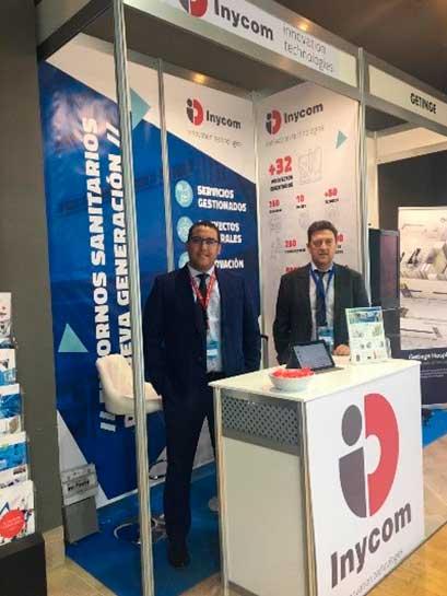 congreso-ingenieria-hostpitalria-equipo-stand