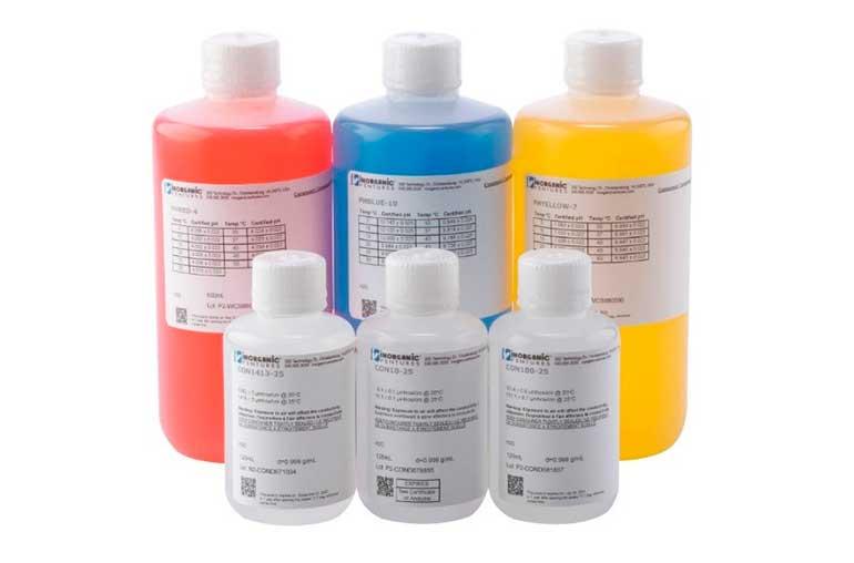 Estándares analíticos para aplicaciones de química húmeda